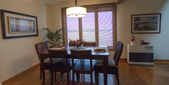 refinished hardwood floors dining room