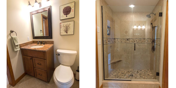 custom tile shower design lighthouse contracting gilford nh