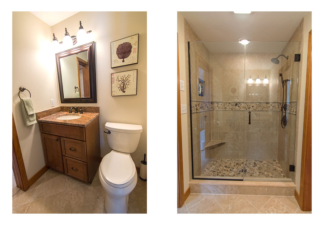 bathrooms as the smallest room in the house a remodeled bathroom must