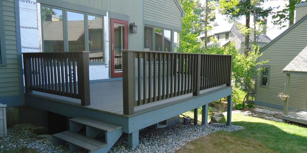 samoset condominiums gilford nh wood deck installation lighthouse contracting group