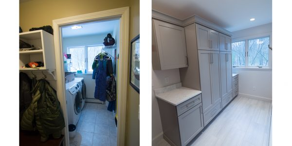 laundry room before and after remodel