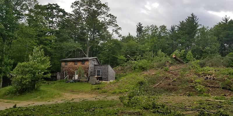 gilford nh mountain home build