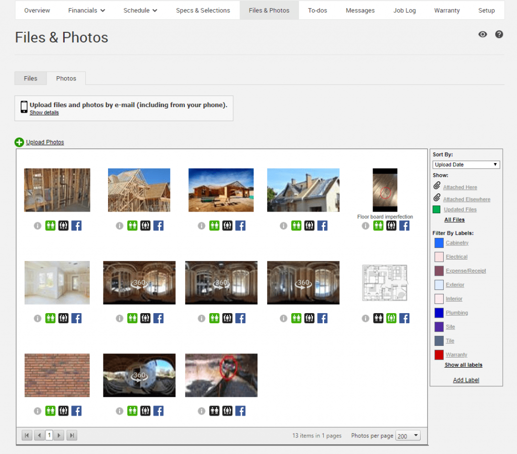 Project Management Tool View Remodel Photos