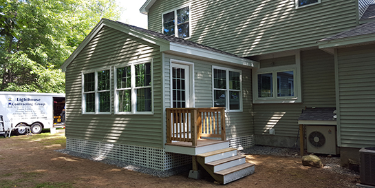 before and after home addition laconia nh lighthouse