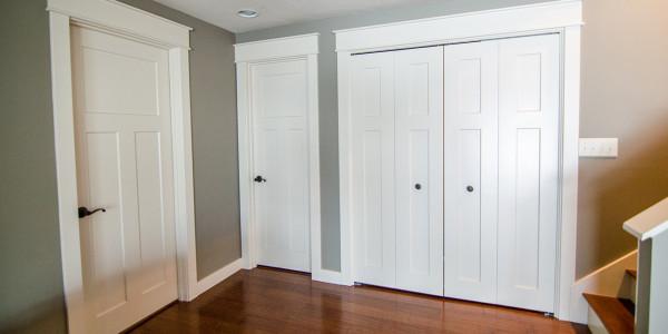 lake house remodel new doors and trim gilford nh