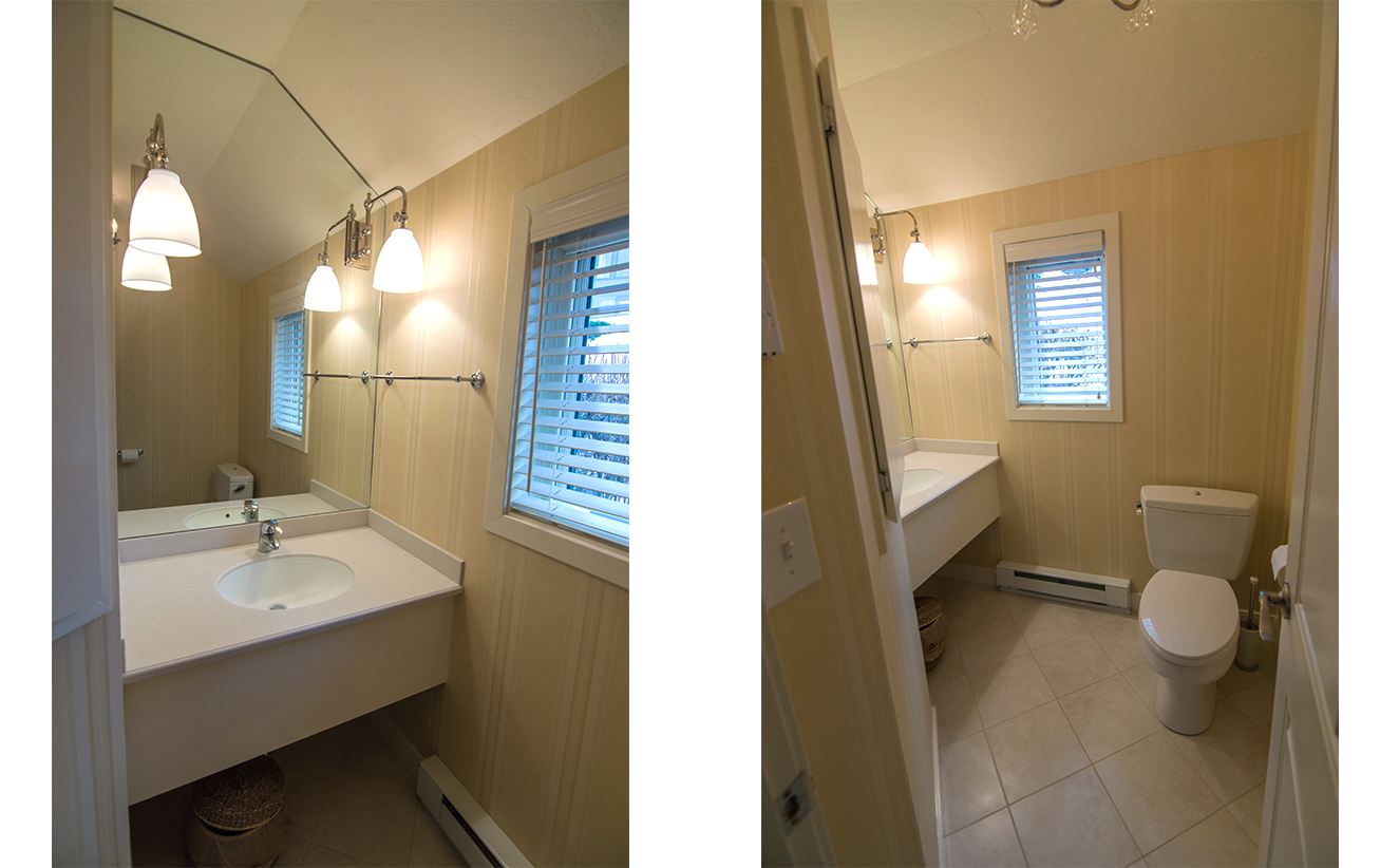 Condo Bathroom Remodel half-bathroom-remodel-lakefront-condo-gilford-nh - lighthouse