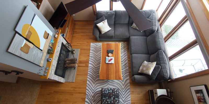 refinished wood floors and stone fireplace makeover gilford new hampshire