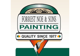 Forrest Noe and Sons Painting Logo