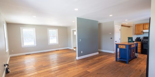 open concept first floor remodel gilford nh