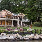 custom deck lake house governors island