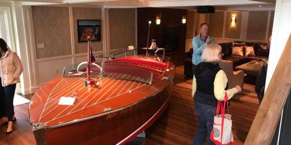 lake house remodel custom designed boat bar