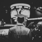 Graduate with scholarship