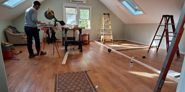 Unfinished Room Over Garage Design and Renovation