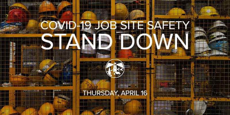 COVID-19 Job Site Safety Stand Down with NAHB
