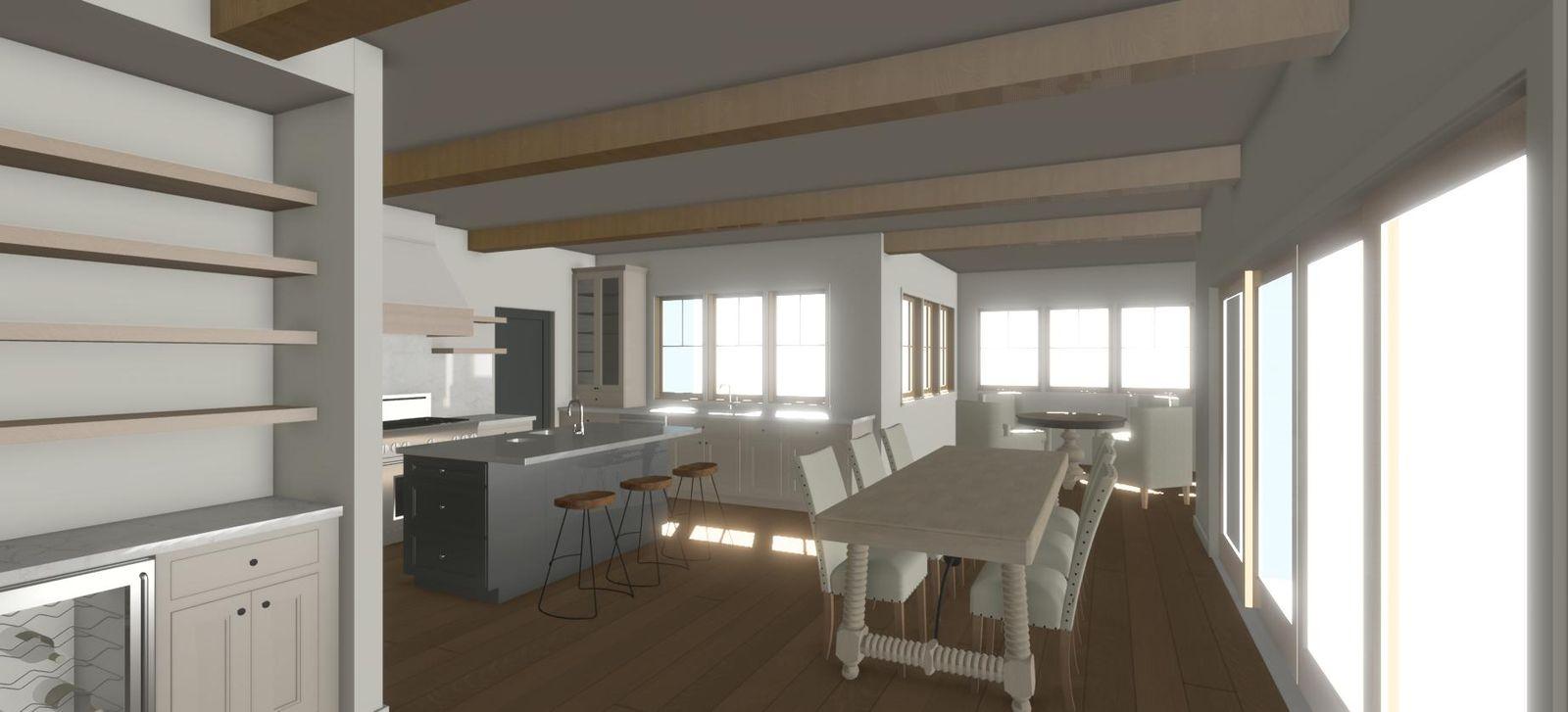 interior design warm organic color palette