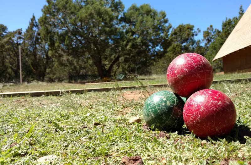 backyard entertainment bocce ball