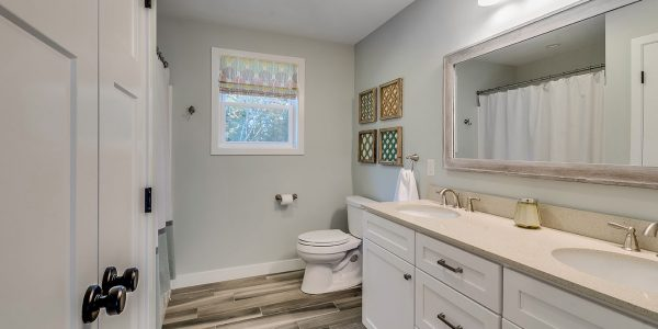 bathroom remodel custom flooring lighthouse contracting group