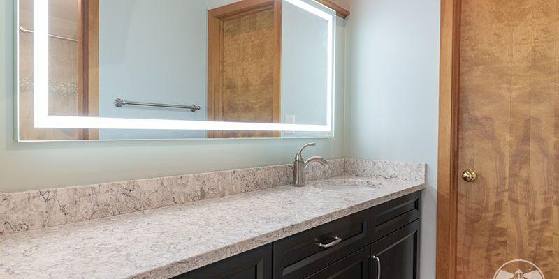 vanity sink in bedroom design