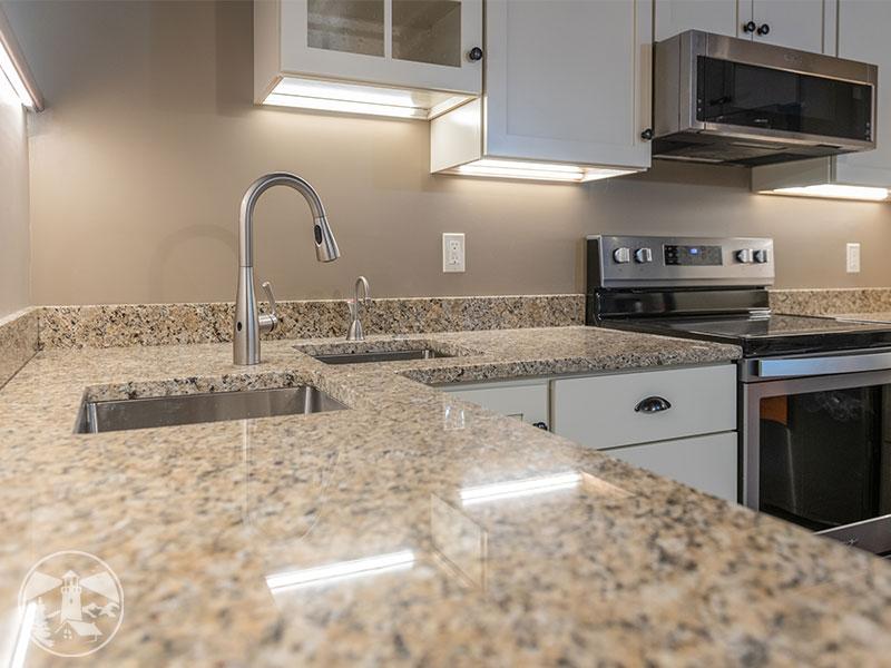 kitchen task lighting under cabinets gilford nh remodel