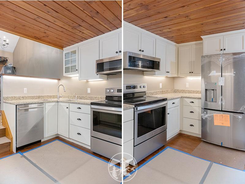 small kitchen and bath remodel samoset gilford nh