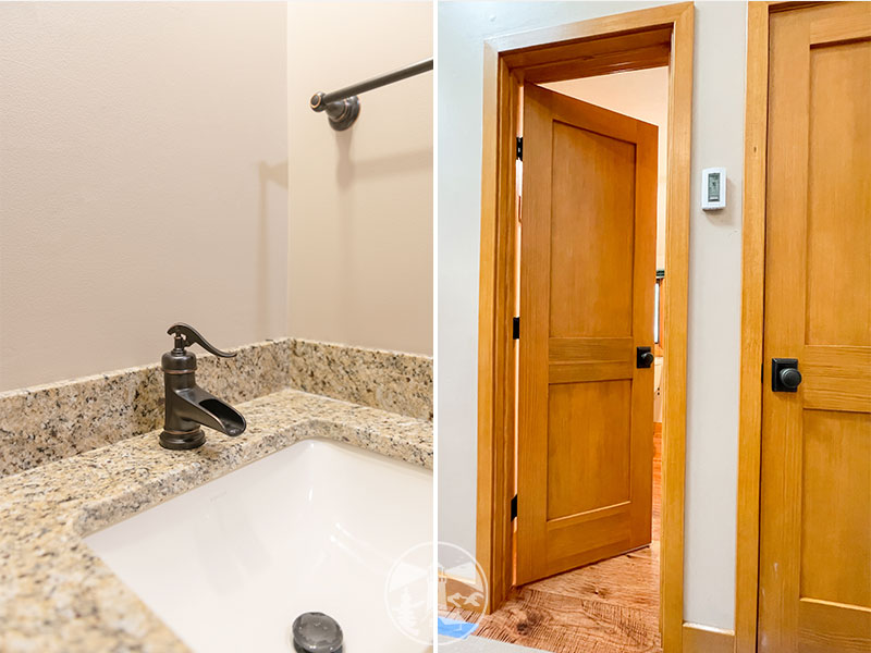 small kitchen and bath remodel samoset