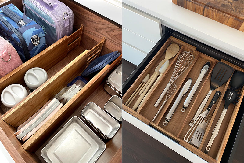 how to organize your home drawer dividers