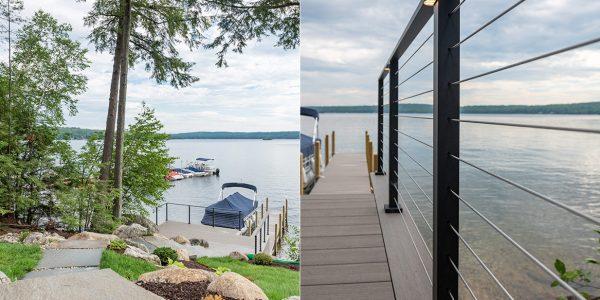 deck cable railing system viewrail gilford nh