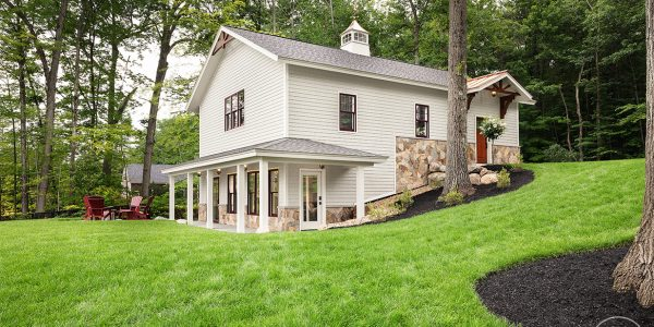 carriage house build governors island gilford nh