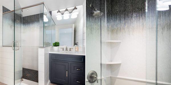 carriage house coastal bathroom design